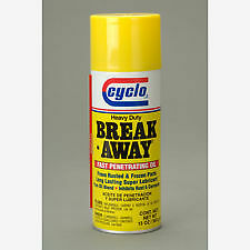 *Set of 6* Cyclo Heavy Duty Break Away Rusted Parts Penetrating Oil Lubricant