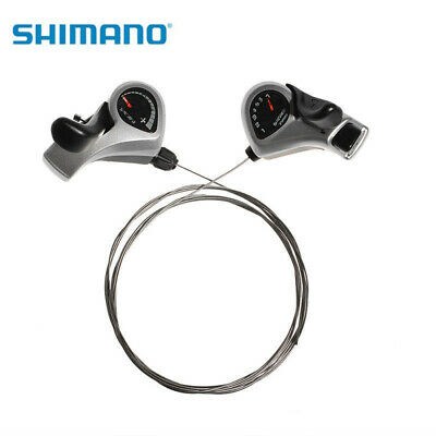 SHIMANO Tourney SL-TX50 Index Thumb Gear Shifters Shift Levers 3x7 Speed