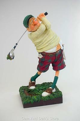 The Golfer Comic Art Figurine Sculpture By Guillermo Forchino