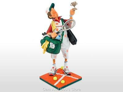 The Tennis Player Comic Art Figurine Sculpture By Guillermo Forchino