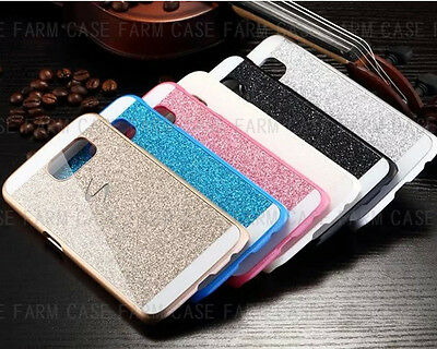 NEW Bling Glitter Spark Hard Case Plastic Cover For Samsung Galaxy S5 Galaxy S6