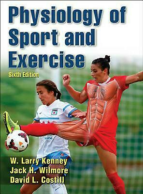 Physiology of Sport and Exercise by W. Larry Kenney Hardcover Book (English)