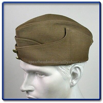 WWII British Army Summer Type Khaki FS Cap Size 59