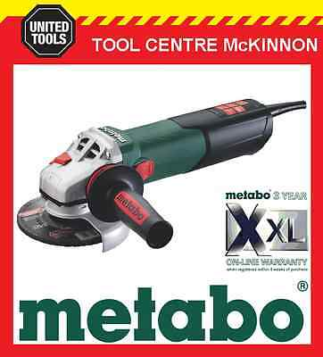 """METABO WEA17-125Q 5"""" 125mm 1700W ANGLE GRINDER WITH QUICK NUT – MADE IN GERMANY"""