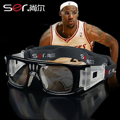 Sport protective eyeglass Basketball safety glasses Clear lens myopia in option