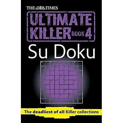 Times Ultimate Killer Su Doku Book 4 The Mind Games Books PB / 9780007465170
