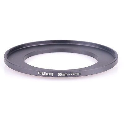 RISE (UK) 55-77MM 55MM- 77MM 55 to 77 Step UP filter Ring Filter Adapter