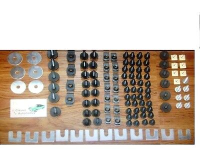 122pc Front End Sheet Metal Hardware Kit Chevy Buick Pontiac Olds Chevrolet