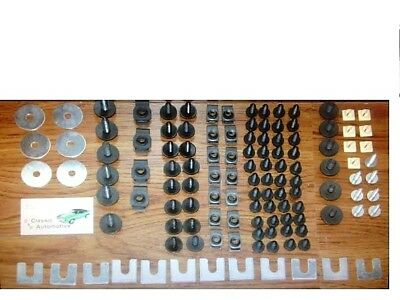 Front End Sheet Metal Hardware 122pc Kit Chevy Buick Pontiac Olds Chevrolet