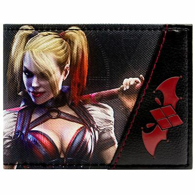 New Official Awesome Batman Harley Quinn Character Bi-Fold Wallet
