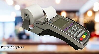 Verifone VX520 2 1/4 x 230' Thermal Paper Adapter - Silver