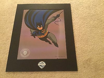 Animated BATMAN LTD ED WB Serigraph Sericel with Original Envelope 1992