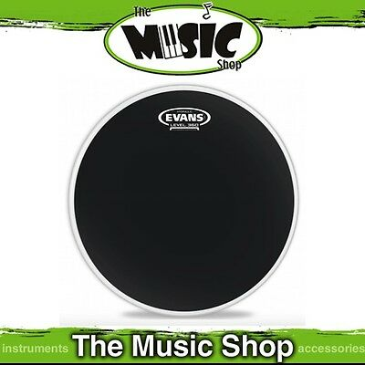 "New Evans 16"" Hydraulic Black Batter Drum Skin - 16 Inch Drum Head - TT16HBG"
