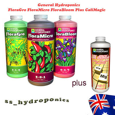 General Hydroponics Flora Micro Bloom Grow Seeding Mix With CALiMAGic Nutrient