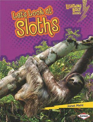 Let's Look at Sloths by Janet Piehl Paperback Book (English)