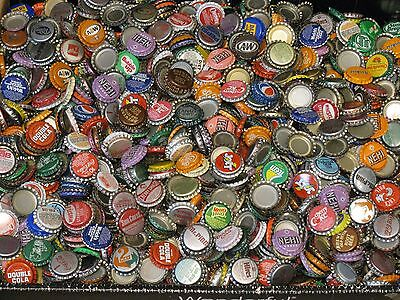100 Plus Free 25 = 125 Unused Soda Pop Bottle Caps  40 Plus Dif New Stock