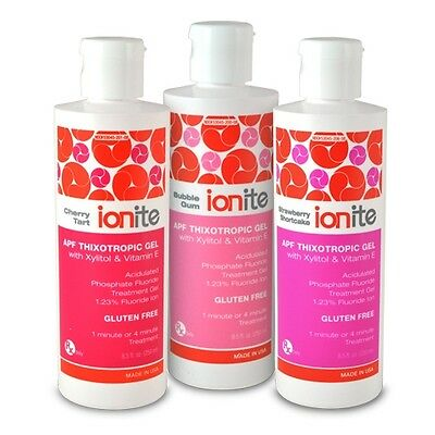 Ionite Apf 500 Ml Cherry Tart  60 Second Fluoride Gel