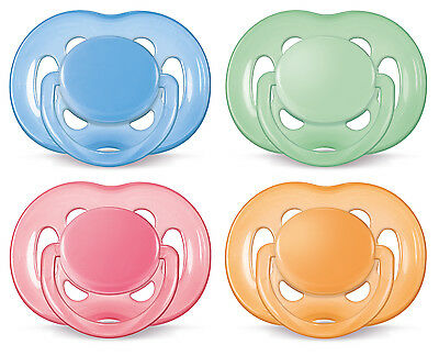 Avent Soother Free Flow 6-18 Months 2 Pack