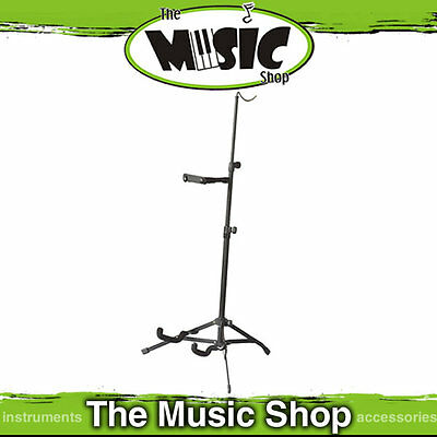 New Xtreme Fold-Up Violin Stand - Height Adjustable with Bow Support - TV96