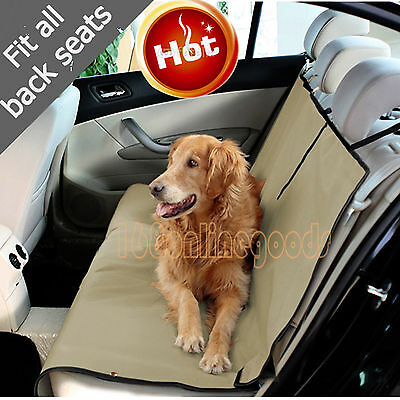 New Car Pet Seat for Dog Cat Pets Waterproof Protector Seat Cover washable UK