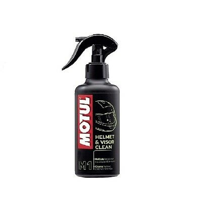 MOTUL ROAD OFF ROAD HELMET  & VISOR CLEANER 250ml MOTORCYCLE MOTORBIKE