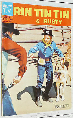 Petit Format Vedettes T.v. Rin Tin Tin & Rusty N°23 1962 Eo Sage