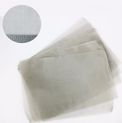 Fine Mesh - Stainless Steel Woven Mesh A4 (210 x 300mm) - Pack of 5