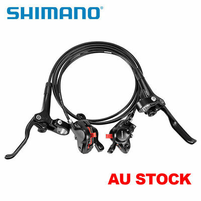 SHIMANO BR-BL-M355 Hydraulic Disc Brake Set Front and Rear White