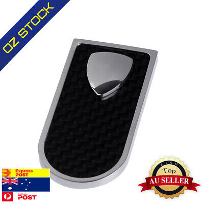 MC1010 Accessories Carbon Fiber Shield Stainless Steel Slim Money Clip By Y&G