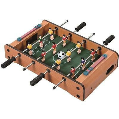 Baby Table Top Mini Football Table Foosball Players Family Game Toy Xmas Gift