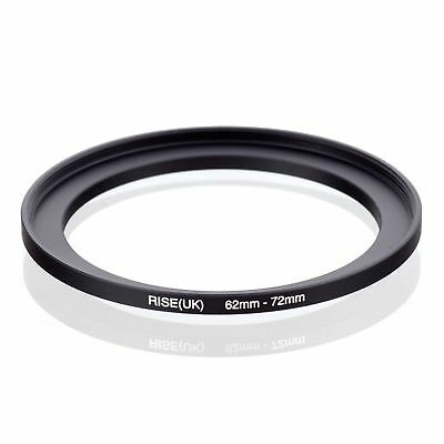 RISE (UK) 62-72MM 62MM- 72MM 62 to 72 Step UP filter Ring Filter Adapter