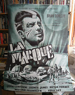 HAMMER/QUATERMASS 2// french poster