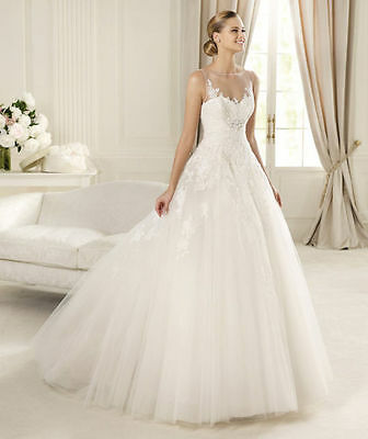 621 Abiti da Sposa vestito nozze sera wedding evening dress