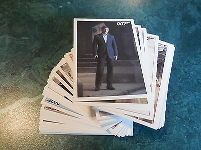 James Bond Archives 2015 Edition - Complete Quantum of Solace Base Set + P1