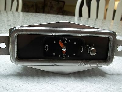 1956 Buick Clock; Working