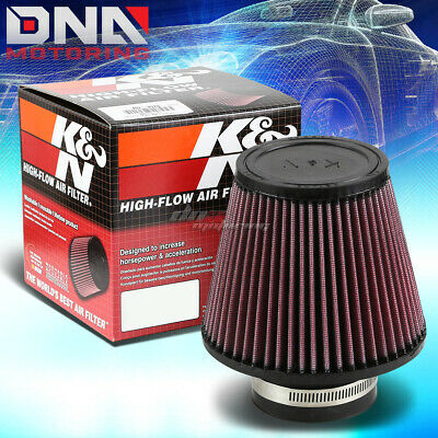 "K&n Kn Universal Round Tapered Cotton Gauze 3""Inlet Air Filter 5"" Height Ru-3580"