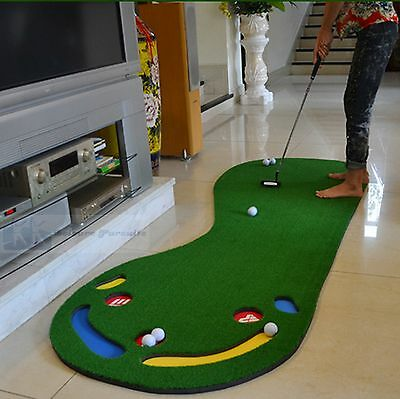 Golf Putting Mat Deluxe Training Aid