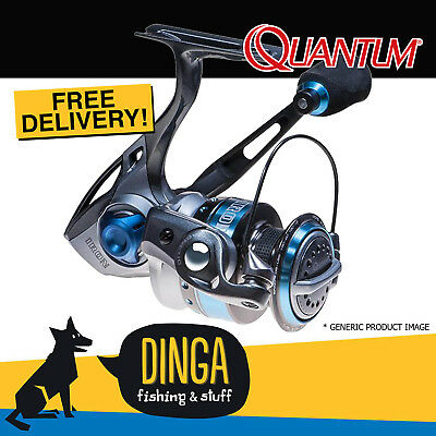 Quantum Iron IR 30 PTS Spinning Reel