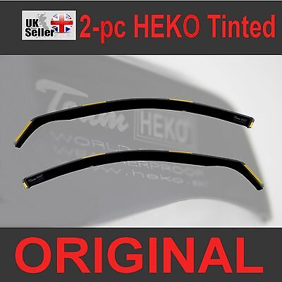 VW GOLF MK4 5-doors 1997-2004 2-pc Wind Deflectors HEKO Tinted