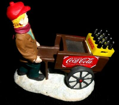 "Coca-Cola Town Square Collection 1996 #64339 VENDOR BOY - 3"" x 2"" x 3"" - New"