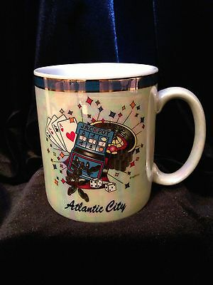 Atlantic City Jackpot Glazed Ceramic Mug