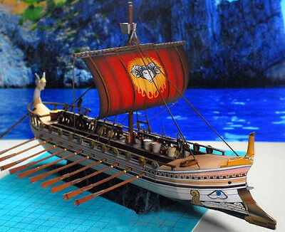 Pirates of the Caribbean sailing boat 3D Paper Model Kit