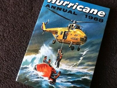 HURRICANE Annual 1968 - Unclipped, Lovely copy