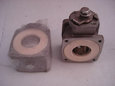 "Akron Heavy Duty Swing Out Valve 1.5"" Body Only 700474 Ball Valve SS Ball  NEW"