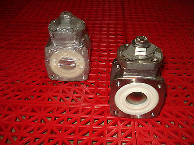 "Akron Heavy Duty Swing Out Valve 1"" Body Only 700483 Ball Valve SS Ball  NEW"