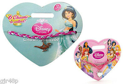 Disney Princess Charm Bracelet Choice Of 2 designs from Disney Store Princess