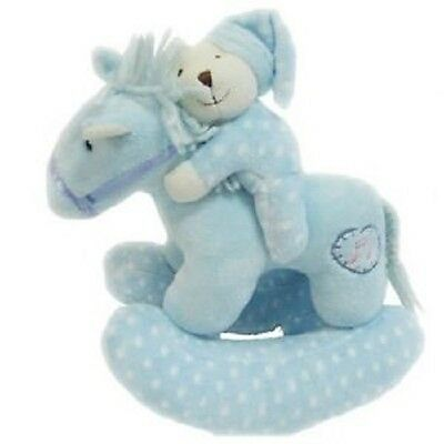 Korimco - Twinkles Rocking Horse with Lullaby Blue 23cm - BRAND NEW
