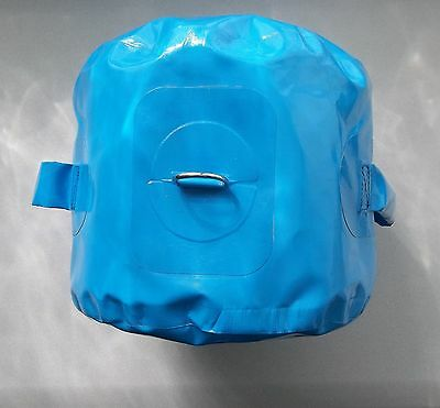 6 New Blue Bounce House Water Bags Weights Moon Jump Bouncer Anchor Tie Down