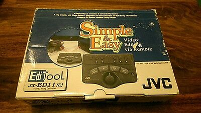 JVC Video Editing Controller JX-ED11(E),camcorders,vcr