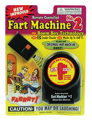 Fart Machine Remote Controlled No2 Funny Practical Jokes for Children Kids